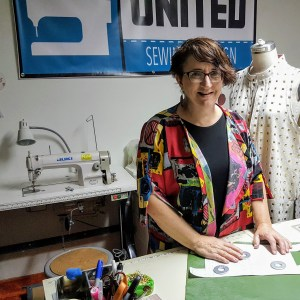 Mary Ruth Shields, sewing contractor, United Sewing and Design