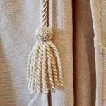 Handcrafted tassel for crusades reenactor costume