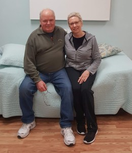 Nancy and Dick Coffey of KTT Enterprises look forward to helping you pick the right Talalay foam for your project.