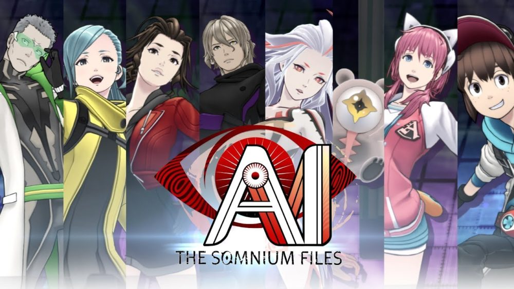 AI: The Somnium Files has an eclectic cast.
