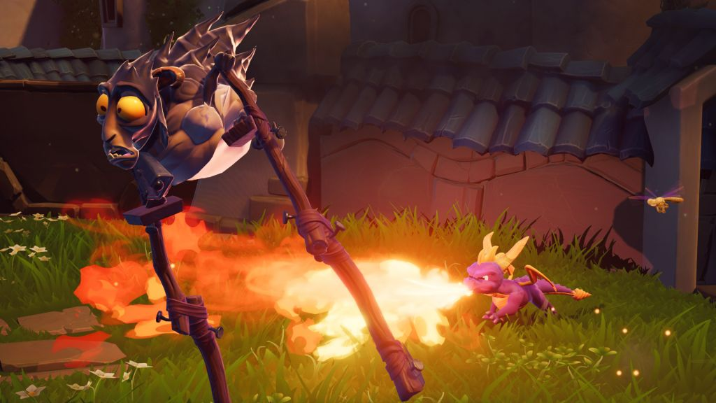 Spyro Reignited Trilogy features fire-breathing fun on Nintendo Switch.