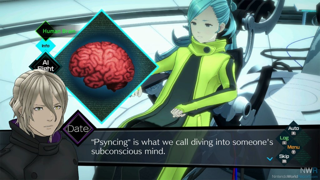 AI: The Somnium Files takes a page from Christopher Nolan's Inception.
