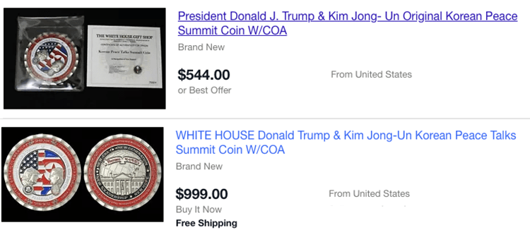 The Trump Kim Coin Could Be Worth A Fortune Very Soon United Squid