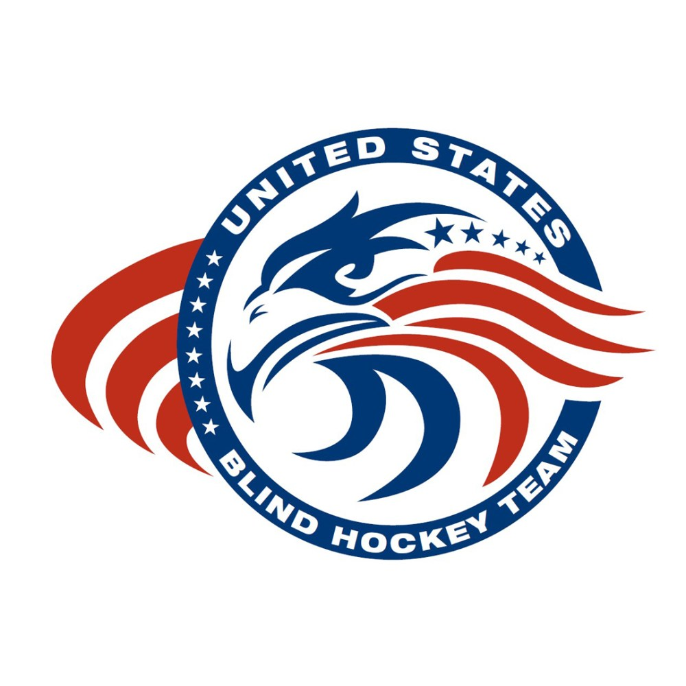 United States Blind Hockey Team Logo