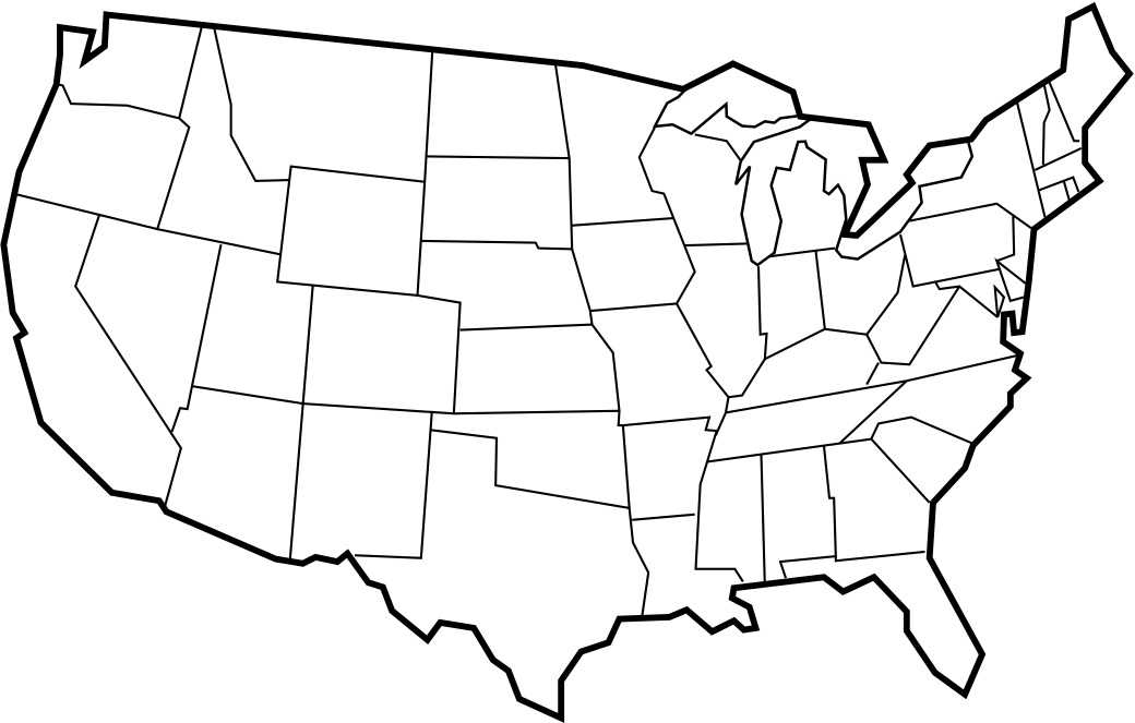 You can use the map for personal and classroom use. Blank Us Map United States Blank Map United States Maps