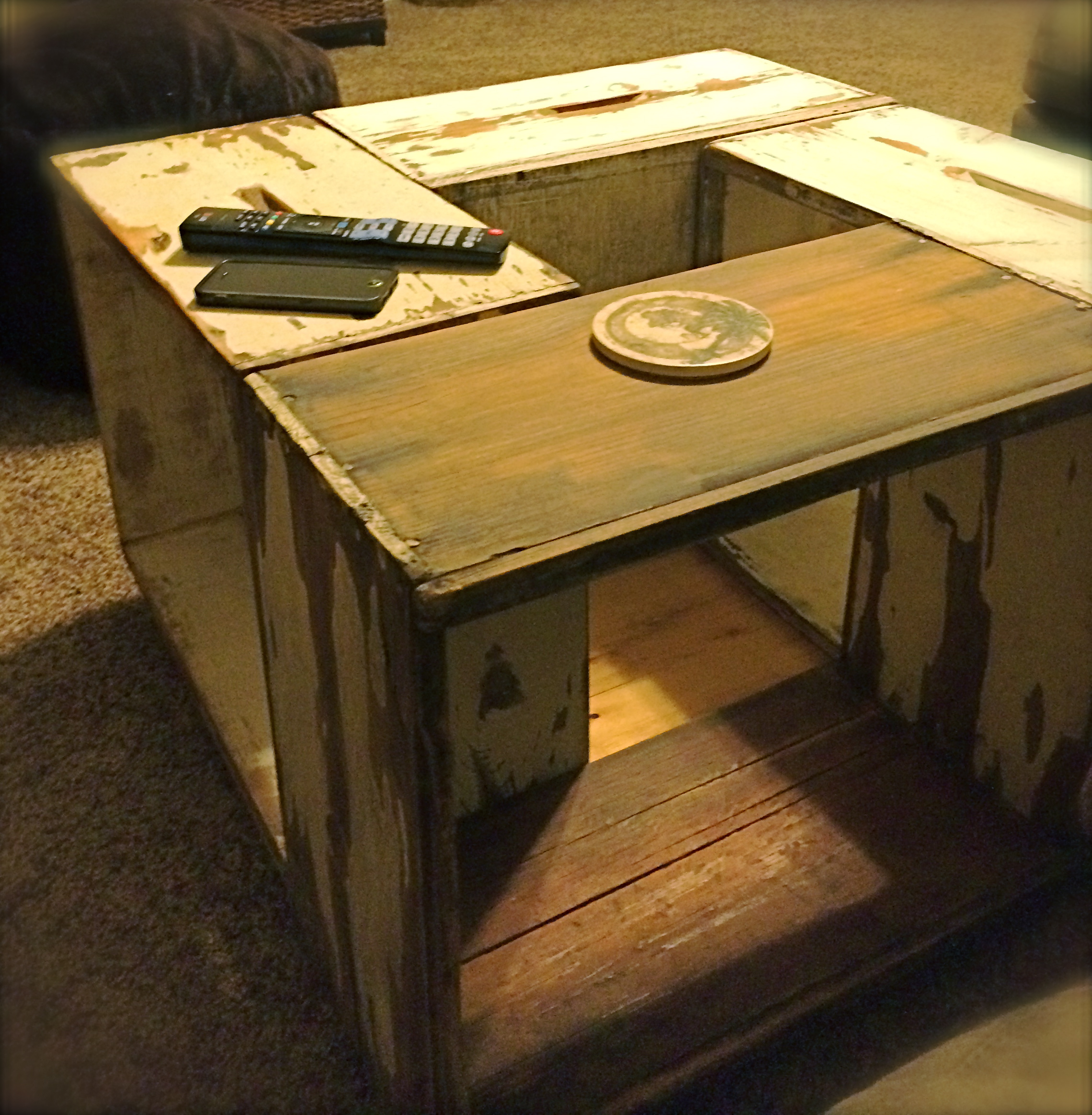 Bee box coffee table united states of able bee box coffee table geotapseo Image collections