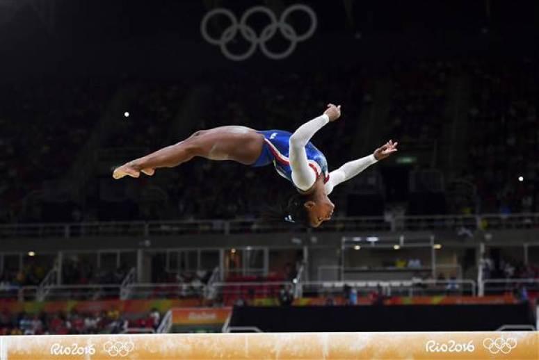 Our Hopeful World in 2017 - Simone Biles 2016 Olympics