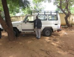 Bishop of Sudan car