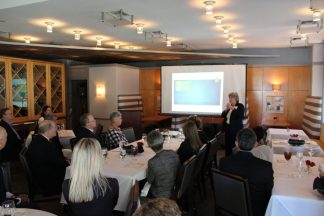 Sherry Magill, president of the Jessie Ball duPont Fund, discussed her vision for the Jessie Ball duPont Center