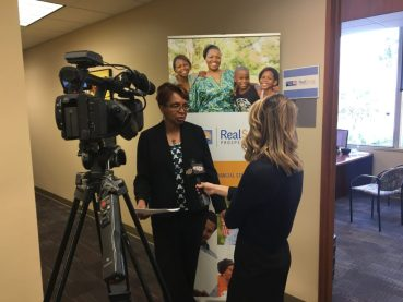 RealSense Manager Jennifer King discusses the services RealSense Prosperity Place offers with First Coast News.