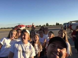 UW Youth Team at Taste the Sky