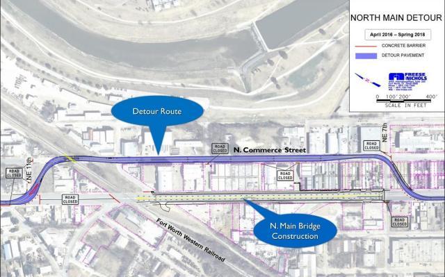 Main Street Detour-Pre-Council Mtng 3-22-16