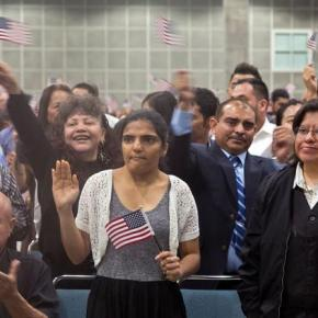 Becoming an American citizen in the age of Trump