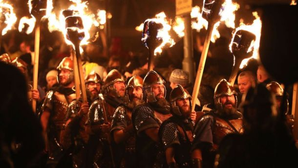 Up Helly Aa Viking Festival 2018