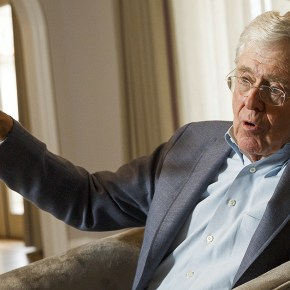 Koch groups urge Trump to accept Democrats' immigration deal