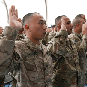 Army abandons legal effort to expel an immigrant soldier on path to citizenship