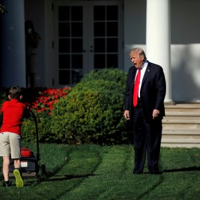 Trump Makes It Official, Literally Compares Families at Border to People Who Should Get Off His Lawn