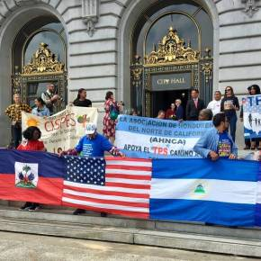 Activists Rally In SF To Support TPS Immigrants