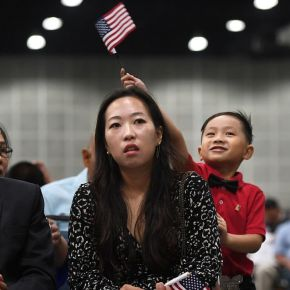 Why is the U.S. so far behind on naturalizing new citizens?