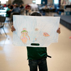 At Detention Camps and Shelters, Art Helps Migrant Youths Find Their Voices