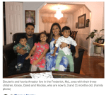 One family's experience with the 'unfair' math of our country: Four U.S. citizens plus one who is not equals zero stimulus funds