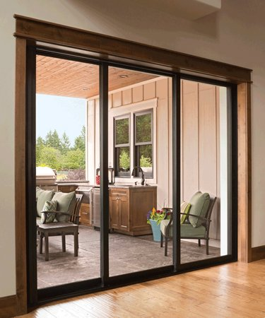 glass patio doors