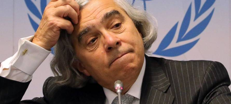 US Energy Secretary Ernest Moniz