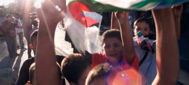 palestinians celebrating 9/11