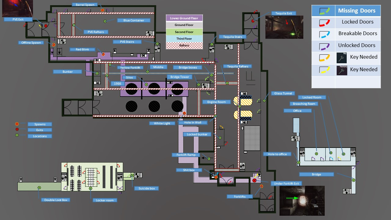 eft labs map
