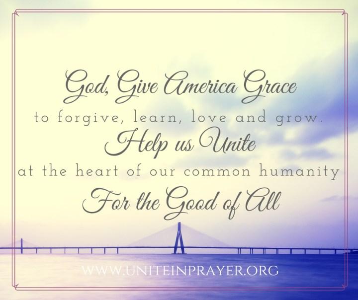 Prayer for Unity in America