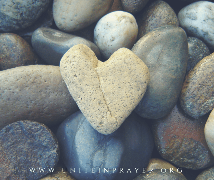 Unite in Prayer to soften hardened hearts and prevent
