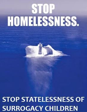 Global Warming is to Polar Bears and Unregulated Global Surrogacy is to Stateless Outsourced Children