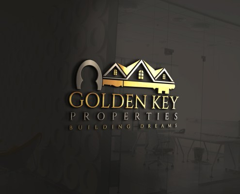 real estate logos with keys