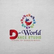 dance studio custom logo design