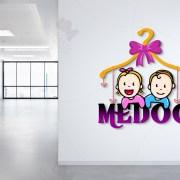 kids logo designer works