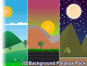 2D Background Parallax Pack