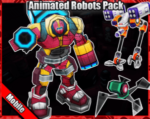 Animated Robots Pack