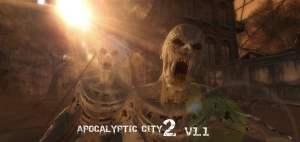 Apocalyptic city for free (unityassets4free)