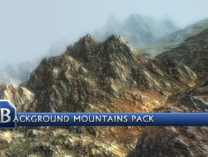 Background Mountains Pack for free (unityassets4free)
