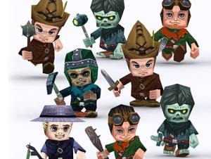 Chibi Villagers for free (unityassets4free)