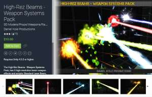 High-Rez Beams for free (unityassets4free)