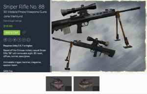 Sniper Rifle No for free (unityassets4free)