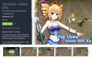 Top Down – Action RPG