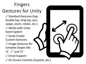 Fingers – Touch Gestures for Unity 2.7.0