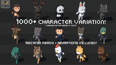 1000+ Character Pack