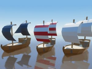 Low Poly Ships