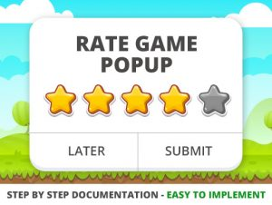 Rate Game Popup (Android & iOS)