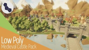 cgtrader-low-poly-medieval-castle-pack