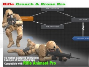 Rifle Crouch And Prone Pro