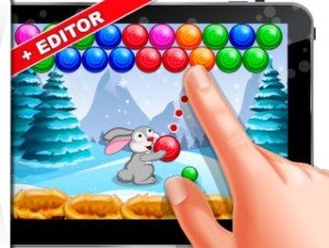 Bubble Shooter Easter Bunny
